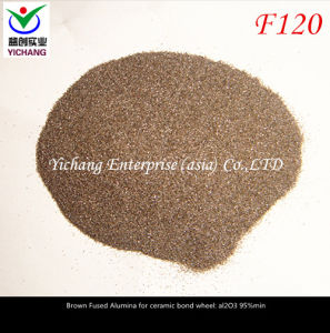 Brown Aluminum Oxide #120 for Abrasive Polishing pictures & photos