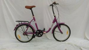 Factory Supplied 16 Inch Lady′s Steel Frame Folding/Folded Bike (YK-FB-013)