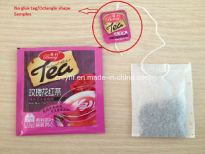 Heat Sealed Tag No Glue Option for Tea Bag Packing Machine pictures & photos