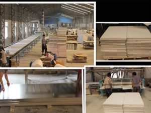 595*595*7.5mm PVC Gypsum Ceiling Tiles with Aluminum Foil Backing pictures & photos