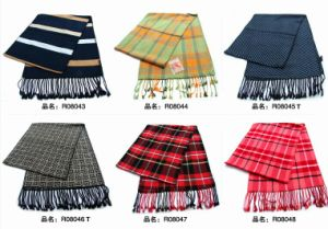 New Design Men′s Fasion Viscose Scarf (08043-08048) pictures & photos