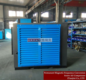 Water Proof Low/High Pressure Air Screw Rotary Compressor pictures & photos