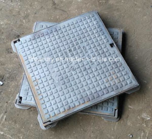 Gray Cast Iron Gg20 Light Duty Square Manhole Cover pictures & photos