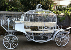 Electric Cinderella Horse Carriage Cart 10 People (BTH-13D+10)