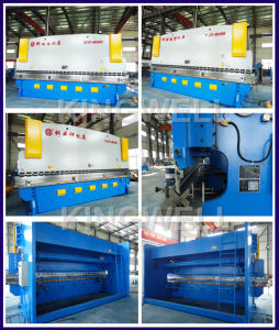 Metal Steel Stainless Plate Sheet Bending Machine with Best Price (WC67Y-400TX6000) pictures & photos