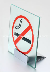 Display Aluminium Table Sign Clamp pictures & photos