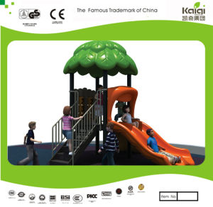Kaiqi Small Forest Themed Slide Set for Children′s Playground (KQ20014A) pictures & photos