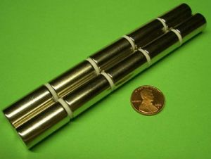 Sintered Neodymium Cylinder Magnet (UNI-CYLINDER-oo9) pictures & photos