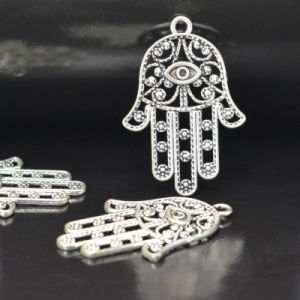 DIY Bracelets Necklaces Accessories Hamsa Hand Evil Eye Pendants pictures & photos