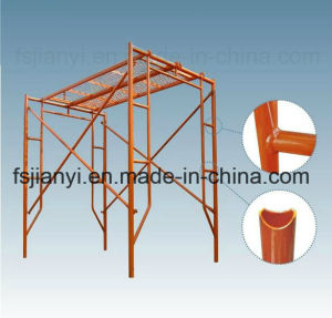 Best Quality Pre-Galvanized Walk Through H Frame Scaffolding pictures & photos