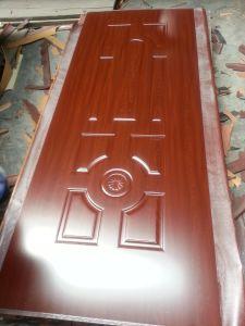Melamine HDF Moulded Door Skin pictures & photos