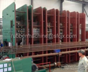 Rubber Fabric Core Conveyor Belt Vulcanizing Production Line pictures & photos