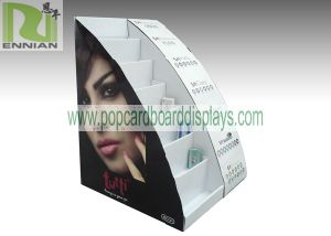 Cardboard Display Stand with Shelf Cosmetic Display Racks