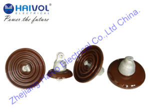 High Voltage Line Disc Type Suspension Porcelain Insulators pictures & photos