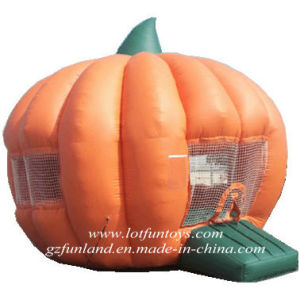 Halloween Bouncy Toy: Inflatable Pumpkin Bouncer Jumping Castle