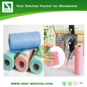 Spunlace Nonwoven Viscoce Wet Wipes Roll pictures & photos