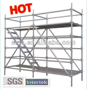SGS Hot DIP Galvanized All-Round Rosette Scaffold pictures & photos