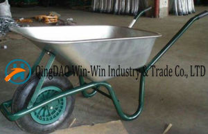 Hand Truck with One Wheel Tool for Garden Barrow Wb6414 pictures & photos