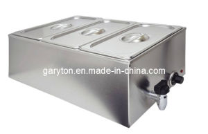 Economical Stainless Steel Electric Bain Marie (GRT-ZCK165BT-3) pictures & photos