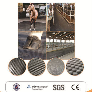 Interlocking Stable Rubber Mat, Agriculture Rubber Matting, Cow Horse Matting pictures & photos