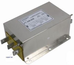 Three Phase/Single Phase Output Low Loss EMI Line Filters pictures & photos