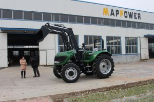 China Cheap 110HP 4WD Farming Tractor pictures & photos