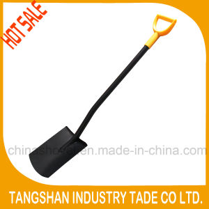 All Metal Ergonomic Handle Flat Spade Shovel pictures & photos