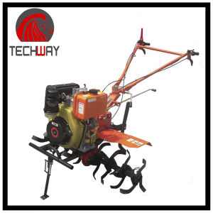 6.0HP Gear Driving Diesel Tiller (TWDT1100A) pictures & photos