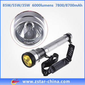 85W Rechargeable CREE LED Flashlight (ZSHT0001)