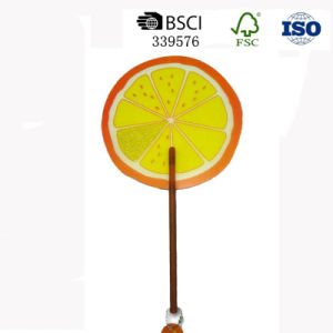 Summer Popular Promotional Giveaways Print Ads Mini PP Plastic Hand Fan pictures & photos