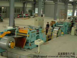 Supply Slitting Line and Crosscut Shearing Line From Crystal pictures & photos