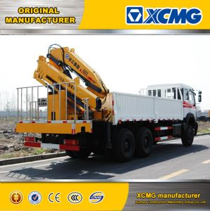 2017 XCMG Official Newest 5ton Sq8zk3q Folding-Arm Truck Mounted Crane for Sale pictures & photos