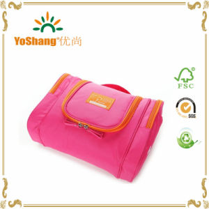 Beautiful Multi-Function Hanging Travel Cosmetic Bag, Travel Toiletry Wash Bag with Hanging Hook pictures & photos