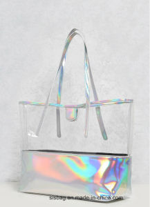 Promotion Transparent Color Shopping Bag TPU Beach Bag pictures & photos