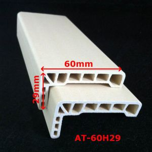 WPC Architrave PVC Architrave for WPC Door Frame Laminated Architrave at-60h29 pictures & photos