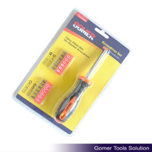 13PCS Ratchet Screwdriver for Hardware (T02347)