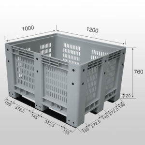 High Quality Clear Plastic Storage Bins for Sale pictures & photos