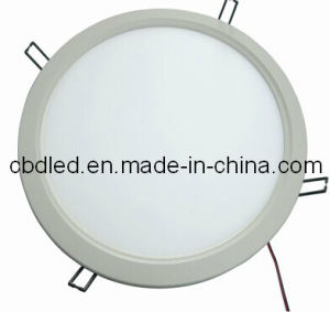 22W Super Slim Round-Shaped LED Downlight with CE and RoHS