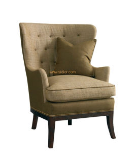 (CL-2245) Fabric Wooden Accent Chair for Hotel Furniture pictures & photos