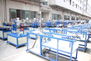 Low Maintenance Cost PC Light Tube Plastic Extrusion Line pictures & photos