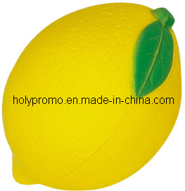 Lemon Shape PU Stress Ball
