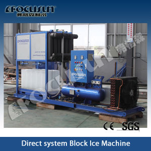 Focusun Fish Freezing Block Ice Machine pictures & photos