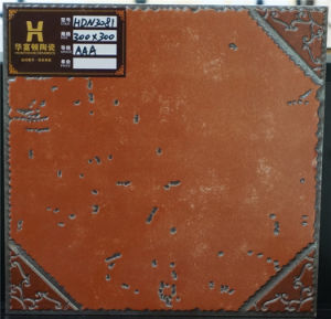 Tile Foshan Ceramic Floor Tile Red Tile 300*300mm pictures & photos