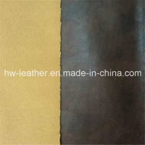 Popular PU Leather for Garment (HW-1284) pictures & photos