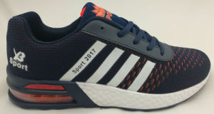 Casual Flyknit Running Sports Shoe for Men pictures & photos