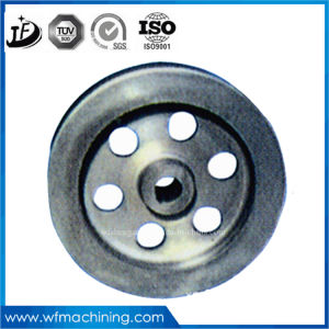 OEM Grey Iron Sand Casting Belt Pulley with CNC Machining From Cast Foundry pictures & photos