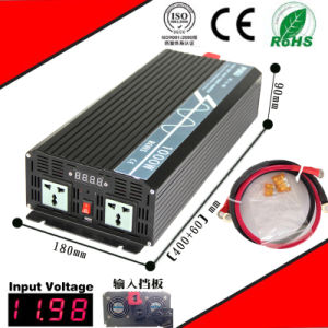 1000W DC-AC Solar Inverter 12VDC or 24VDC or 48VDC to 110VAC or 220VAC Pure Sine Wave Inverter pictures & photos