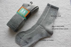 Australian Wool Outdoor Socks