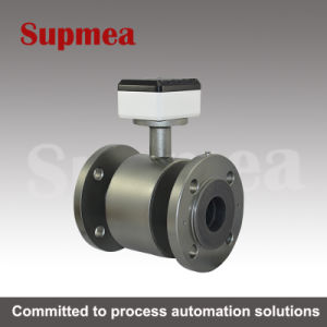 Supmea PTFE Electromagnetic Milk Beverage Electromagnetic Flow Meter pictures & photos