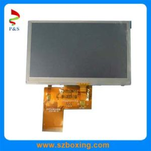 4.3 Inch TFT LCD with Resistive Touch Screen pictures & photos